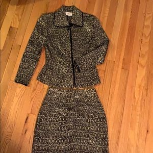 Woman's St John Skirt Suit